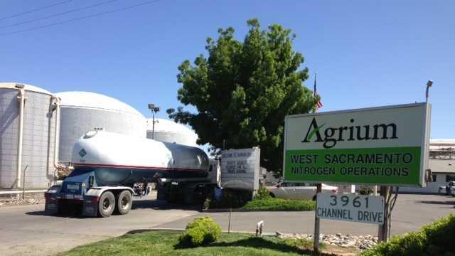West Sacramento fertilizer plant