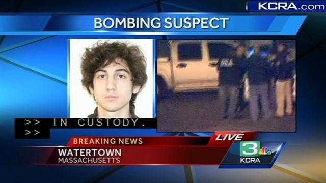 Police tell KCRA 3: Suspect is in custody
