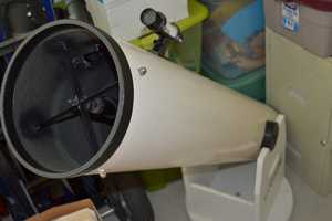"""1.) Geek alert, part one! I love astronomy. Always have. I've had this 8"""" reflector telescope for about 20 years, and it has taken me hundreds of millions of miles across the night skies, from the moon, to the planets, nebulae, clusters, galaxies and beyond."""