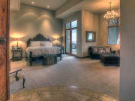 This home has six en-suite bedrooms.