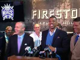 Herethey stayed?April 29, 2013 -- The NBA announces that the league's relocation committee has unanimously recommended to deny the relocation of the Sacramento Kings to Seattle.
