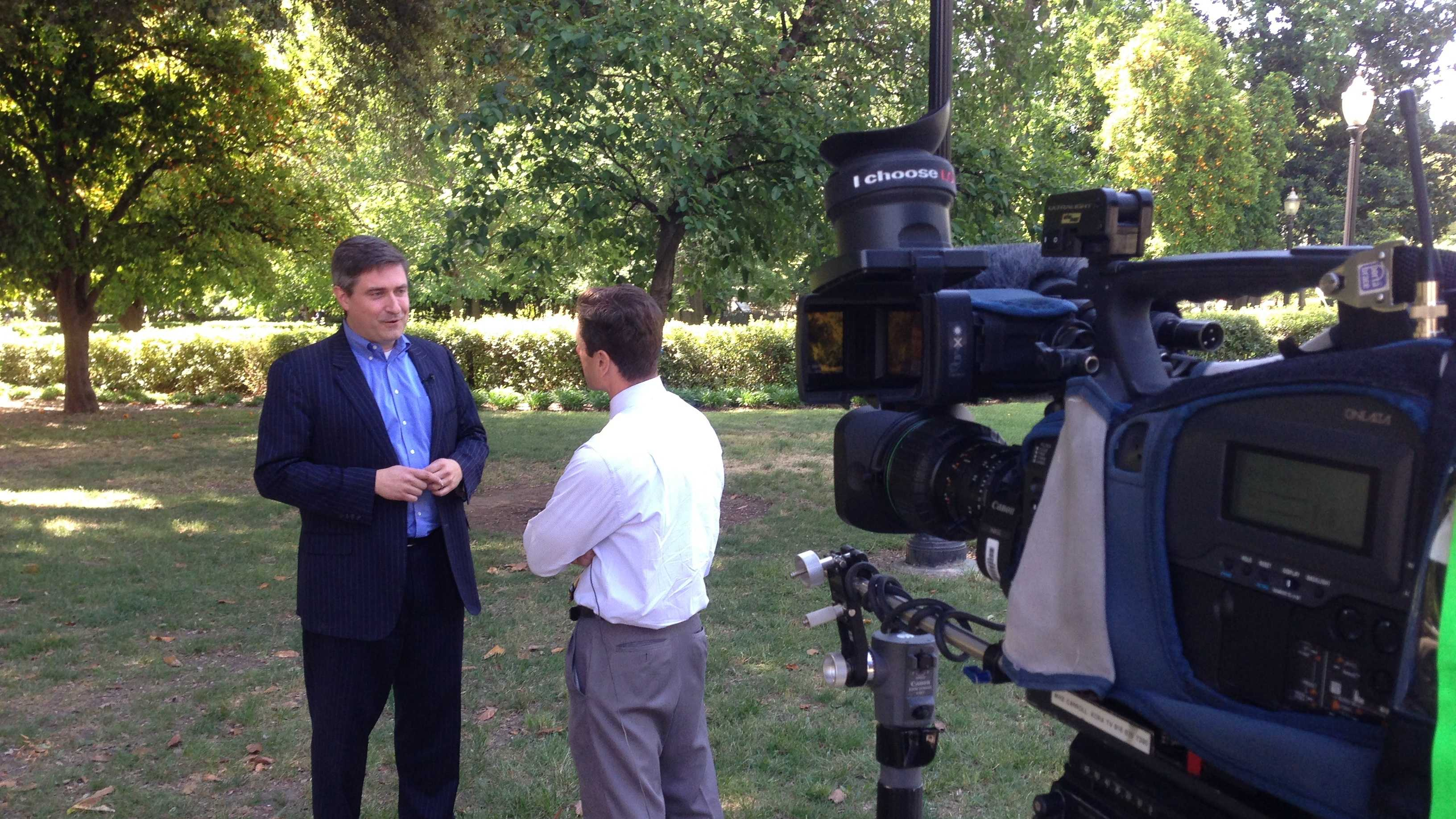 Kings investor Chris Kelly speaks with KCRA 3's David Bienick.