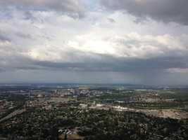 LiveCopter flew over the downtown Sacramento area Monday (May 6, 2013).
