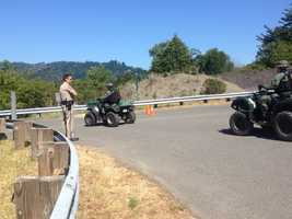 Local residents living in the midst of a manhunt along California's north coast are on high alert as officials continue their search for Miller, a prime suspect in a Shasta County triple homicide (May 9, 2013).