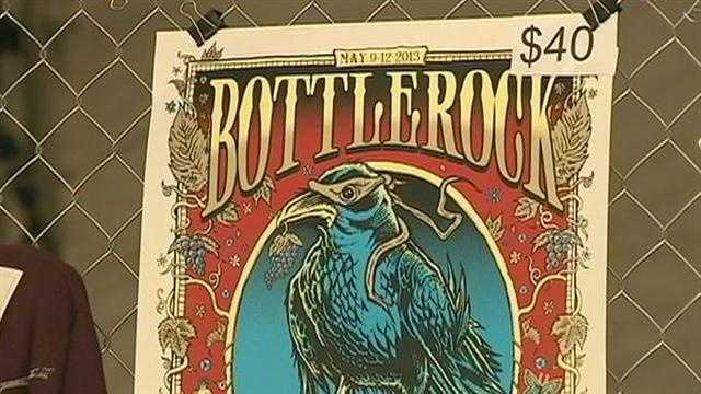 Bottlerock Festival expected to draw thousands this weekend