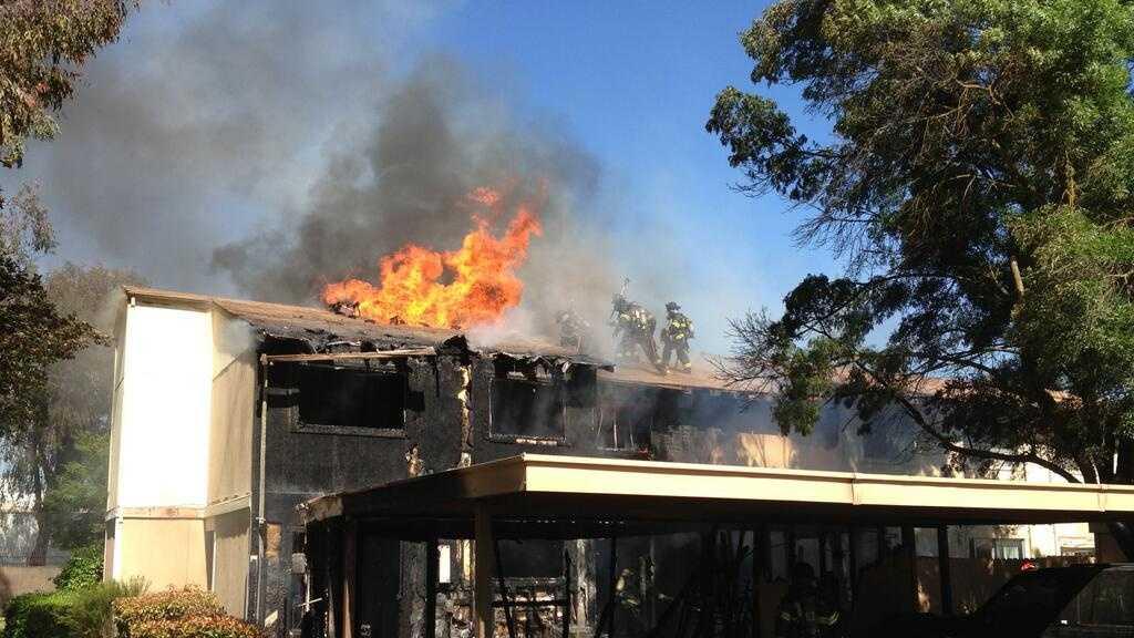 Bamford Drive fire