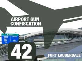 Airport: Fort Lauderdale–Hollywood International AirportTotal guns: 42Percentage loaded: 90