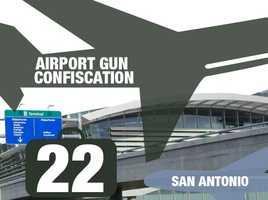 Airport: San Antonio International AirportTotal guns: 22Percentage loaded: 82%