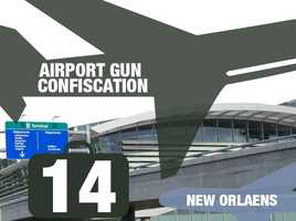 Airport: Louis Armstrong New Orleans International AirportTotal guns: 14Percentage loaded: 86%
