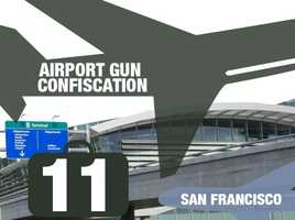 Airport: San Francisco International AirportTotal guns: 11Percentage loaded: 64%