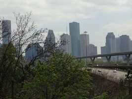 Downtown Houston.