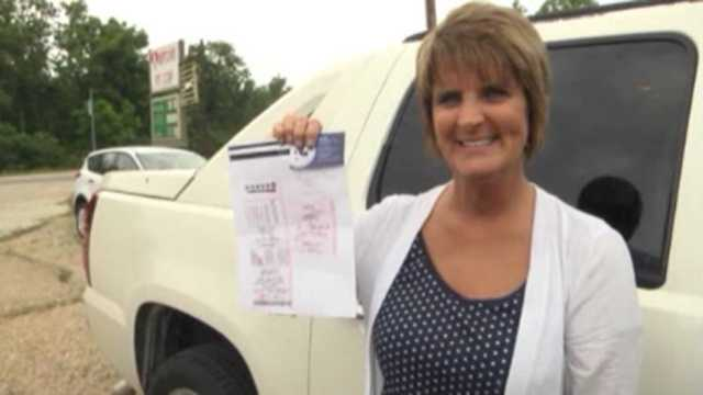 Cashier sells self lotto ticket