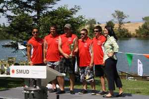 The Ceres High School senior team won judges' choice and best video submission at the 2nd Annual Solar Regatta.