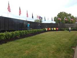 Vietnam War Memorial in Fair Oaks (May 27, 2013)