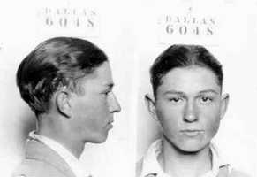 Clyde Champion BarrowBarrow, and his companion Bonnie Parker, were shot to death by officers in an ambush in Louisiana in 1934 following one of the most spectacular manhunts the nation had seen. They were believed to have committed 13 murders and several robberies and burglaries.