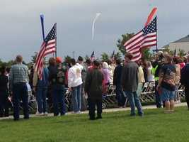 Memorial Day ceremony at Sacramento Valley National Cemetery in Dixon. (May 27, 2013)