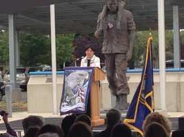 Memorial Day ceremony at the VA Medical Center at Mather Air Force Base in Rancho Cordova. (May 27, 2013)