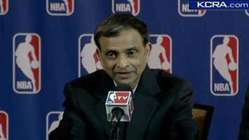 Deal finalMay 31, 2013 -- The sale of the Sacramento Kings became final when it closed escrow. Vivek Ranadiveofficially becomes owner.