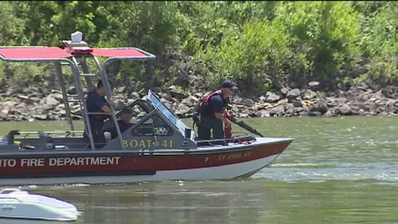 Witnesses say a 16 year old disappeared while swimming in the American River near the Garden Highway in Sacramento.