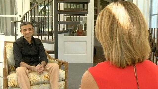 Learning more about the new Sacramento Kings owner, Vivek Ranadive. Kellie DeMarco reports.