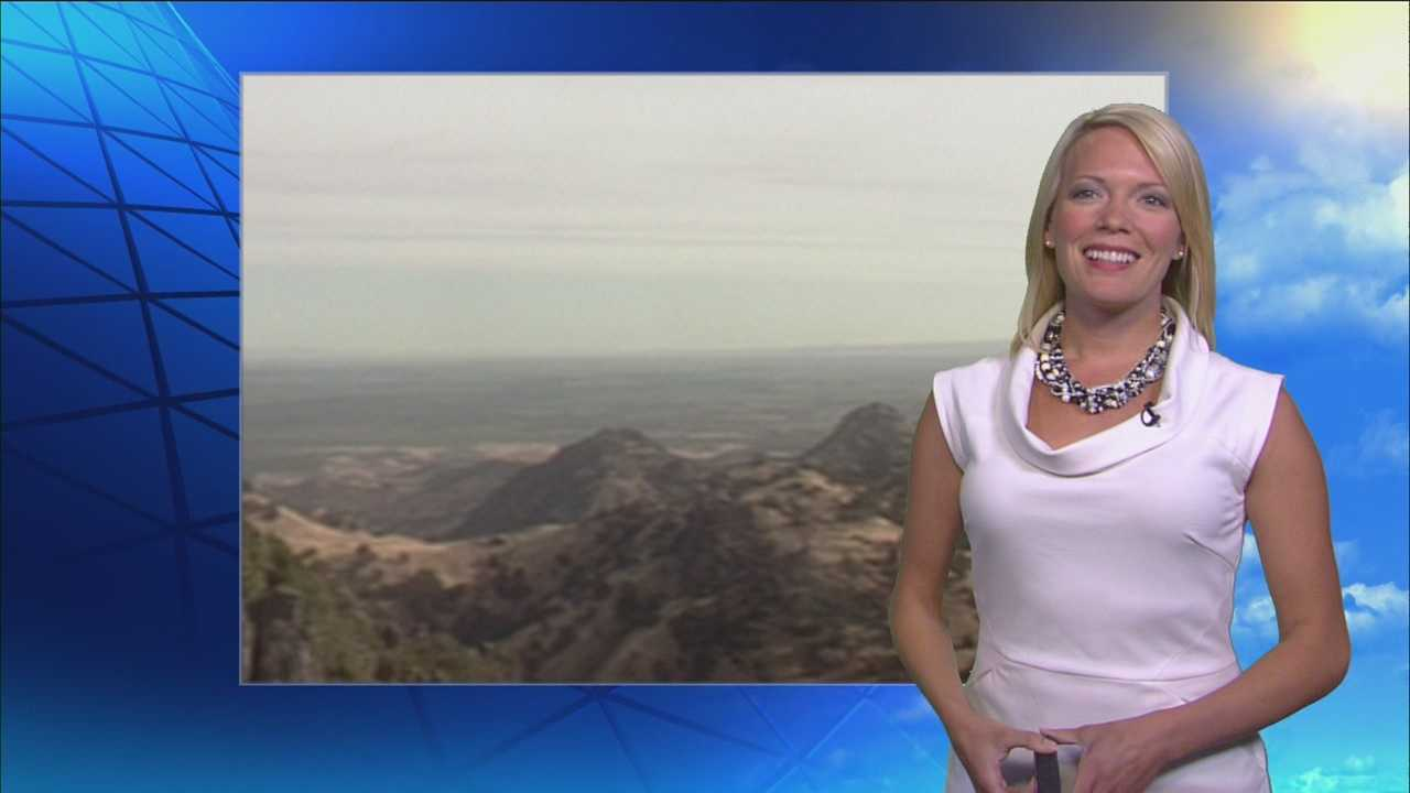 Warm, breezy start to the weekend, but how long will it last?
