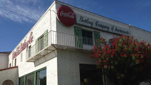 Coca-cola plant