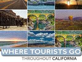 How much tourism does each California county attract? In this slideshow, see how much visitormoney is raised in each county annually throughout California.