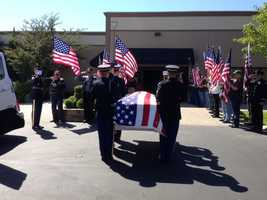 Inside the funeral and procession for Spc. Ray Ramirez on Friday (June 14, 2013).