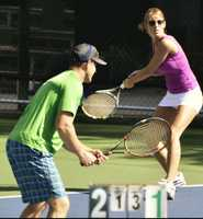 3. I've played tennis since I was a little kid. My dad used to be a teaching tennis pro, and he was the most patient coach I ever had. Those countless hours we spent on the court are the reason I got to be No. 1 singles on my high school tennis team. I still play as an adult in Sacramento.