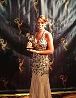 25. I just won my first Emmy for anchoring! It was an incredible honor to be up against some legendary anchors in San Francisco. I love covering big breaking news stories, interviewing news makers and reporting on sports -- especially football! I'm truly lucky to be able to do what I love.