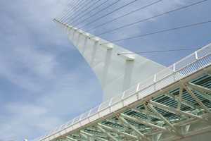 Shasta CountyVisitor-generated sales tax receipts: $9,400,000Things to do: Visit the Sundial Bridge over the Sacramento River in the heart of Redding. The bridge, built in 2004, has quickly become a regional landmark.