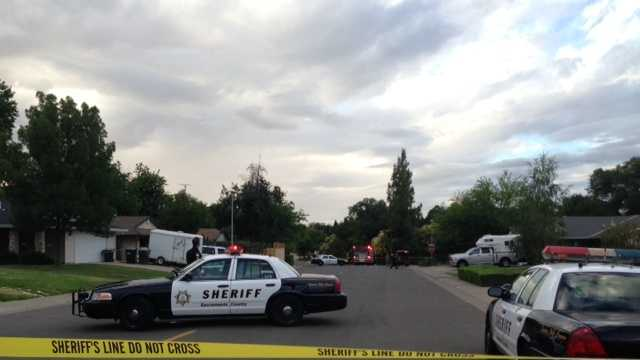A bomb squad was called out to investigate the garage of a home after a loud explosion rocked the neighborhood.