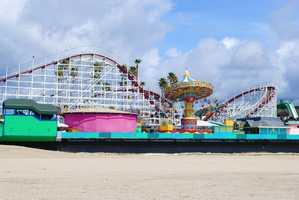 Santa Cruz CountyVisitor-generated sales tax receipts: $19,400,000Things to do:Take the family to Santa Cruz Beach Boardwalk where everyone can enjoy rides, the beach, free movies every Wednesday and live musical performances.
