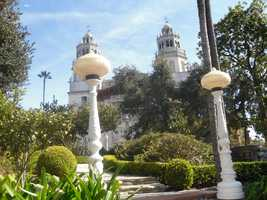 San Luis Obispo CountyVisitor-generated sales tax receipts: $35,300,000Things to do: Explore William Randolph Hearst's famous estate, now a state historical monument.