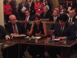 Halle Berry testified at the state Capitol on Tuesday on a bill that protects children (June 25, 2013).