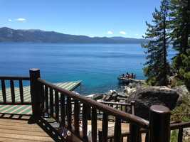 This mansion is one of several luxury homes that are part of the 17th annual Lake Tahoe Lakefront and Luxury Estates Tour (June 26, 2013).