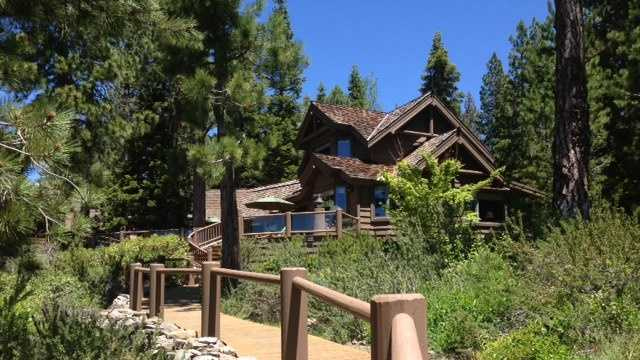 This home is part of Tahoe's luxury housing market, which Bruno said is heating up (June 26, 2013).