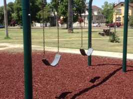 Park swing: 124 degrees