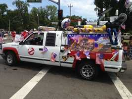 Fourth of July parade at Howe Park. (July 4, 2013)