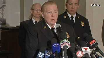 On Monday, San Francisco Fire Chief Joanne Hayes-White said at a news conference that one of the two Chinese students killed in the crash may have been run over. An investigation was ongoing.
