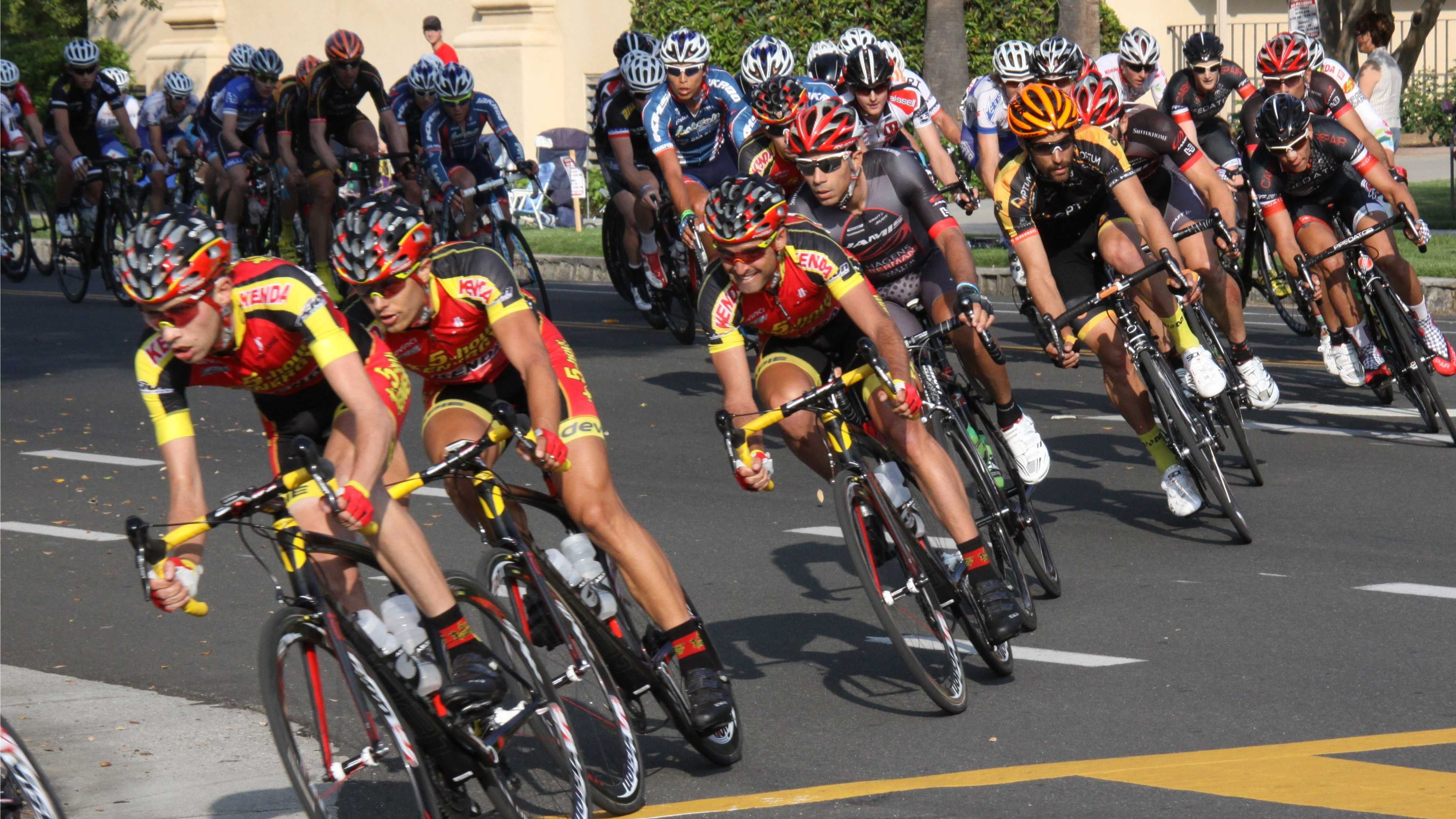Max Jenkins, with theKenda Pro Cycling 5-Hour Energy Team