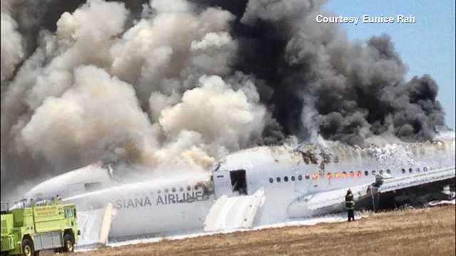 plane crash, Asiana Flight 214, SFO