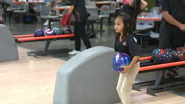 Kids from Northern California are participating in a national bowling competition in Detroit.