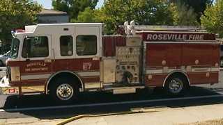 fire, roseville, fire department