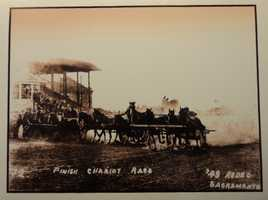 The California State Fair played a significant role in the development of horseracing as a sport.