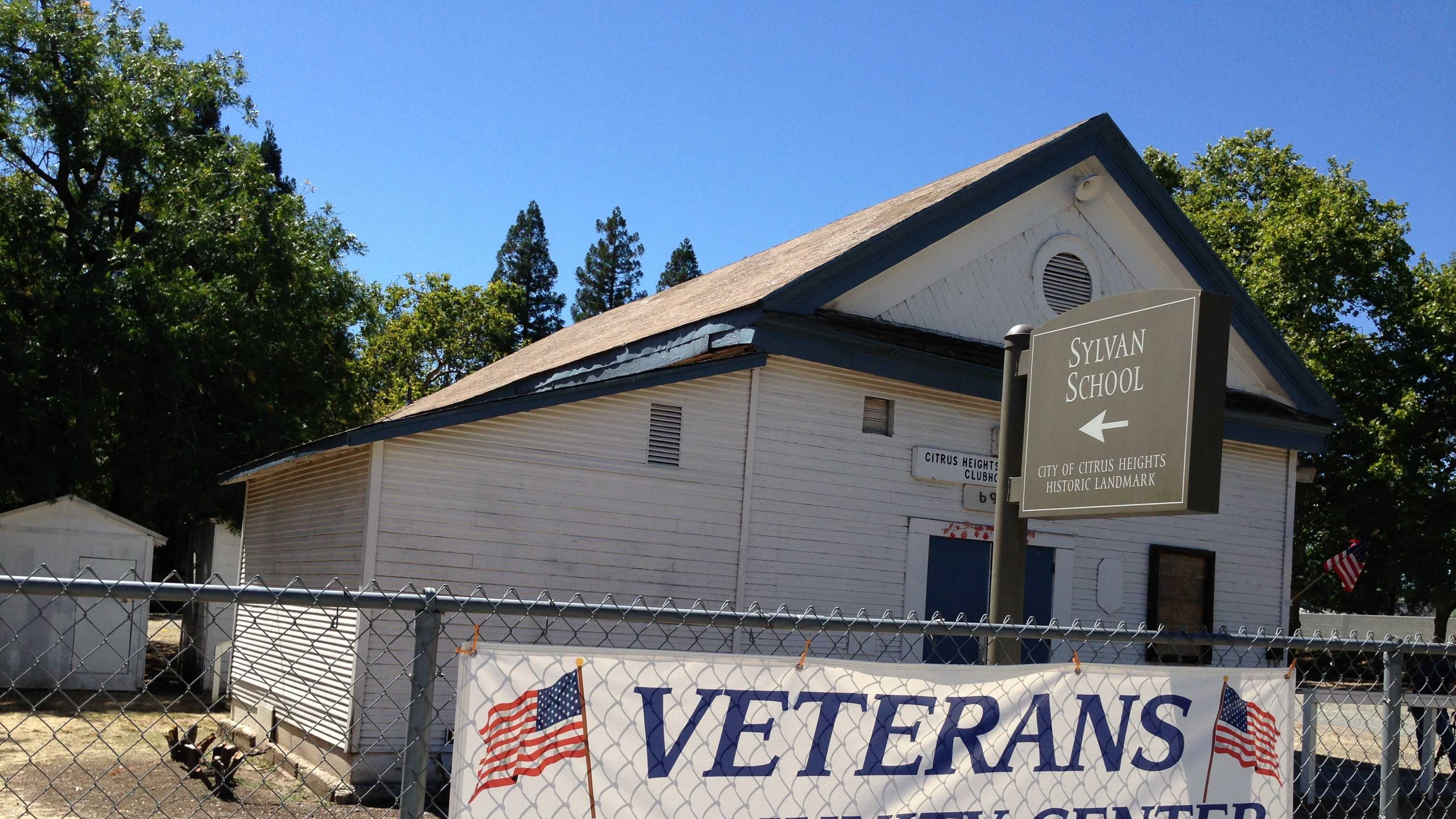 The Veterans Community Center in Citrus Heights was burglarized early Tuesday.