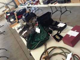 Here's a sampling of some of the items seized by deputies in Sutter County (July 16, 2013).