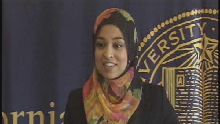 Sadia Saifuddin is the first Muslim to serve as a UC student regent.