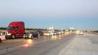 Interstate 80, pedestrian, fatal, crash, traffic, back up