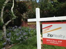 The numbers show home values are up (July 23, 2013).